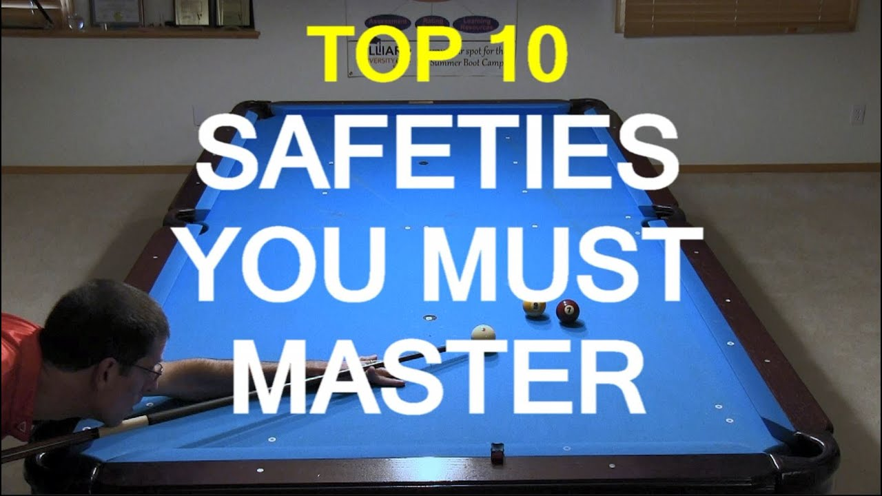 Top 10 Safeties Every Pool Player Must Master