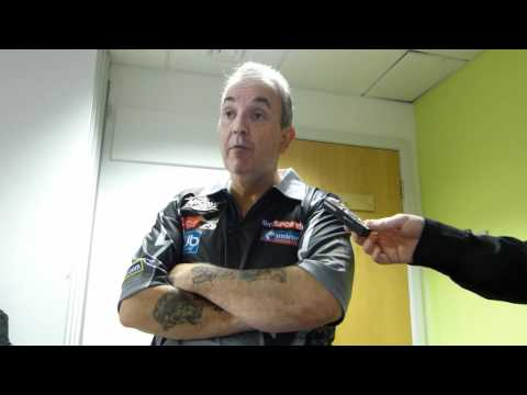 Interview with Phil Taylor post Glasgow Premier League Event