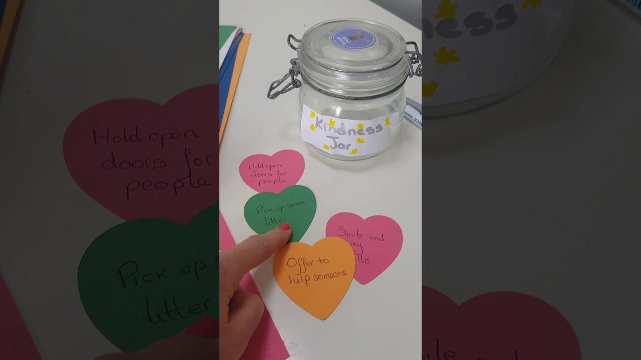 Creating A Classroom Kindness Jar Youtube