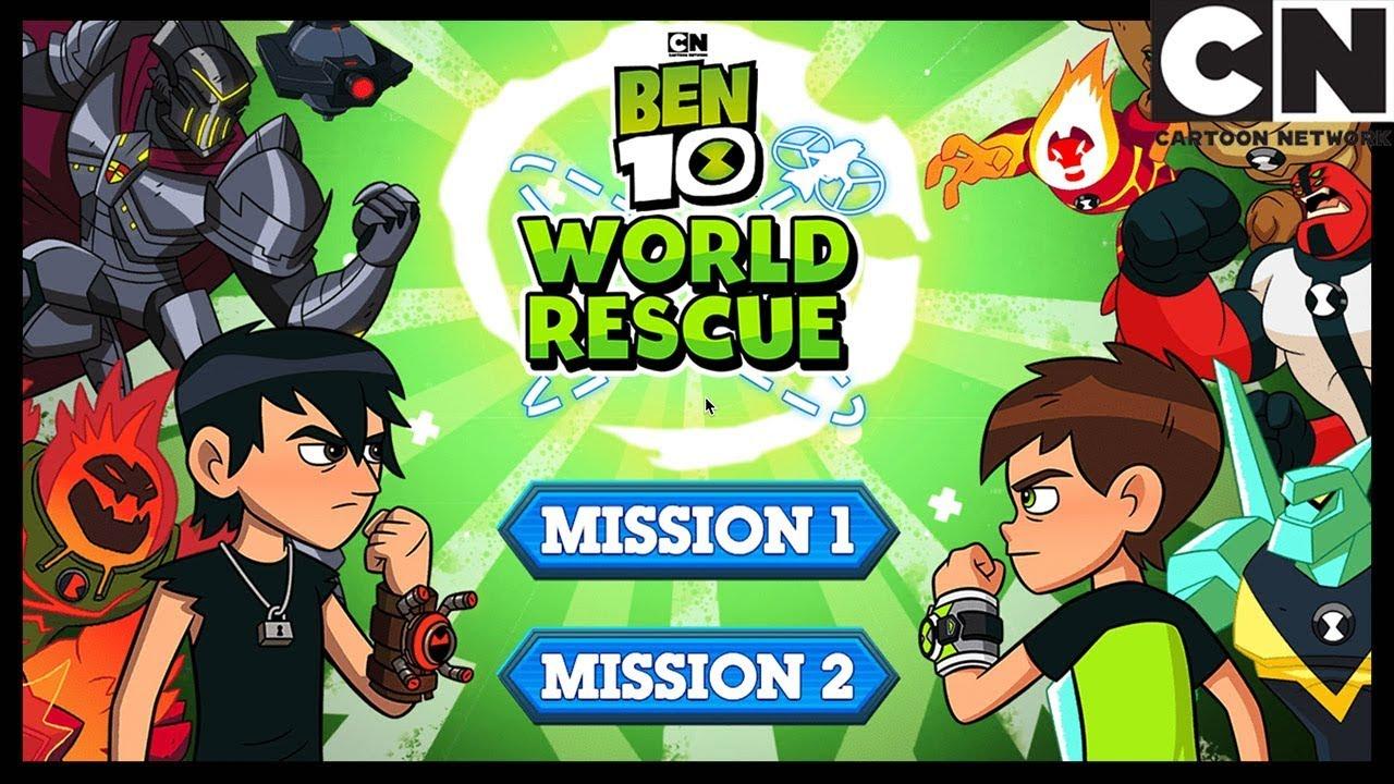 Ben 10   Ben 10 World Rescue Mission 2 Full Playthrough   Cartoon Network