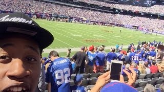 MAMA WE MADE IT ! I Took My Brother To A Giants Game, It Was LIT !!