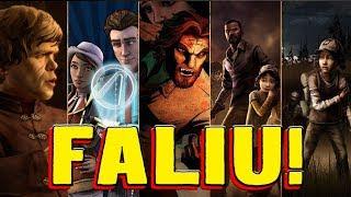 Por Que a Telltale Games Quebrou, Se Fazia Tanto Sucesso?