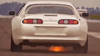 Toyota Supra 1000HP Acceleration Sounds