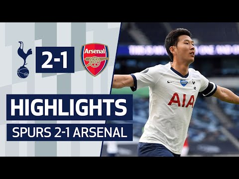 HIGHLIGHTS | SPURS 2-1 ARSENAL | SON & ALDERWEIRELD SEAL DERBY DAY VICTORY!