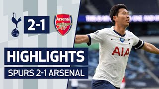 Highlights | Spurs 2 1 Arsenal | Son & Alderweireld Seal Derby Day Victory!