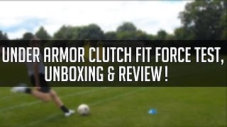Under Armor Clutch Fit force Test,Review & Unboxing | JackFootballHD