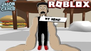 WEIRDEST ROBLOX GAME EVER! NOODLE ARMS IN ROBLOX