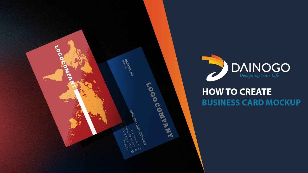 Adobe photoshop tutorial how to create business card mockup adobe photoshop tutorial how to create business card mockup free download baditri Images
