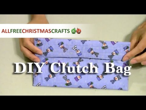 How to Make a DIY Clutch Bag