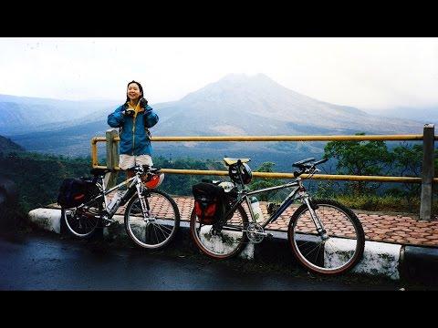 Mount & Lake Batur - Kintamani, Bali: The volcanic caldera with its deep crater lake