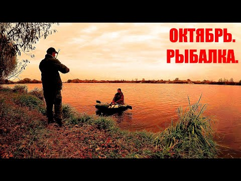 Рыбалка в Октябре. Двое Суток на Реке. Ночное исчезновение Больнички. А всё -таки Мы ЕЁ Дождались!!!