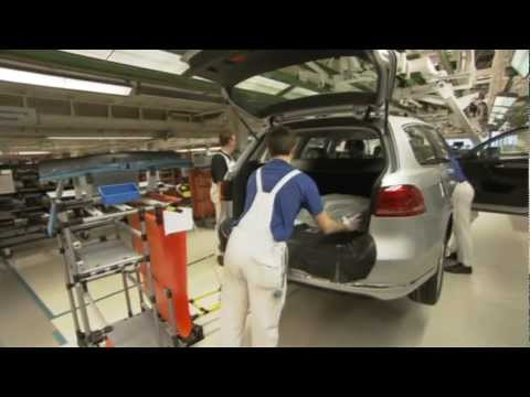 VW Passat Factory of Emden Germany  Press shop  paint shop pre assembly, final check up