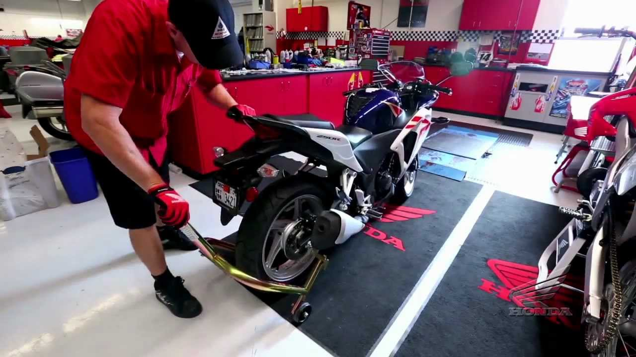 how to : periodic maintenance & service for your honda motorcycle