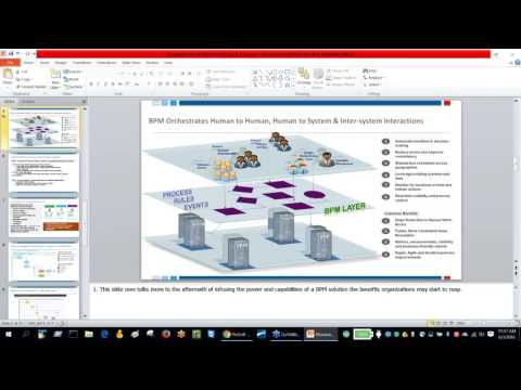 Blueworks Live Demo and IBM BPM 8 5 Integration