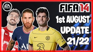 FIFA 14 MOD 2021 22 Fix Career Mode Update Boots Gloves Kits Transfers FIFA 14 2021 22
