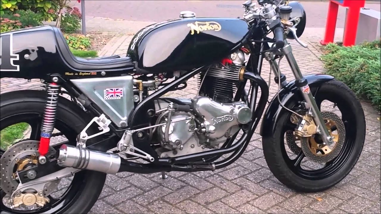 Norton Commando 850 with Rob North frame by Henry van der Sleen ...