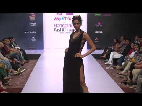 Bangalore Fashion Week 2014 - Amin Farista Gandhian Feb