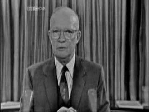 Dwight Eisenhower on The Military Industrial Complex
