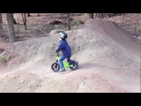 Strider Balance Bike at Lower Woodland Skate & Bike Park - Seattle