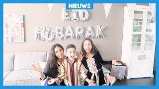 Moslims vieren het Suikerfeest