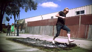 Fired Up for Fire Walking | MythBusters