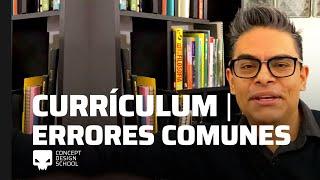 Currículum Vitae para diseñadores, ilustradores y creativos.