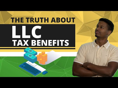 Tax Benefits of LLC | LLC Taxes Explained by a CPA - How does a LLC save taxes?