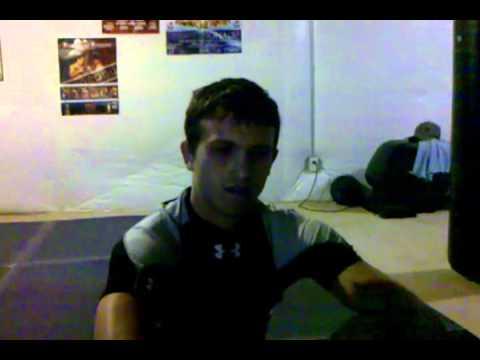 Travis Hollis - pre fight interview - The Professi...