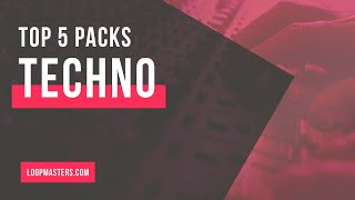 Top 5 Techno Sample Packs on Loopmasters | Techno Loops Samples Sounds