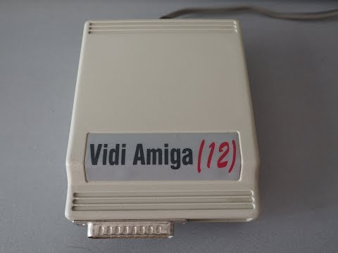 VidiAmiga(12) Image Capture Device for the Amiga