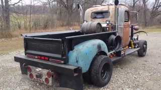 1940 Chevy 1-1/2 ton Dump Truck Rat Rod