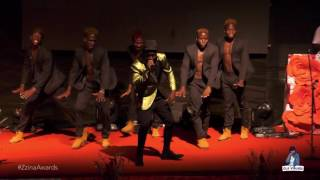 ykee benda performing kyenkyebula live at galaxy fm zzina awards 2017