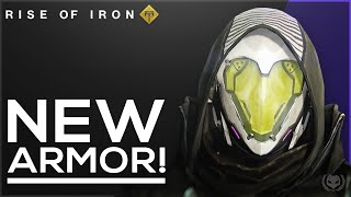 Destiny: Rise of Iron New Armor Sets! Vanguard, Crucible & Factions!