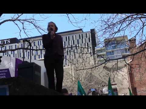 Sydney Uni Strike & National Day of Action - 20th August 2013 - Speeches Video