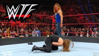 WWE RAW WTF Moments (12 November) | Becky Lynch Invades & Breaks Ronda Rousey Before Survivor Series