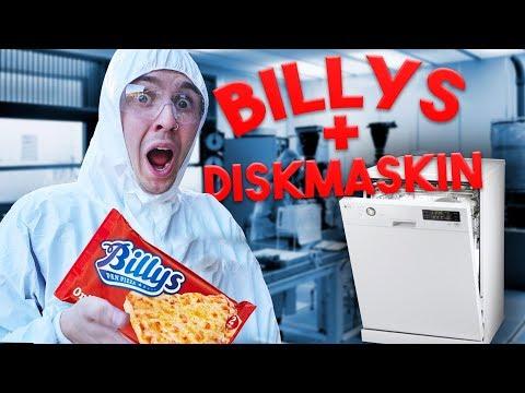 Vad händer om man lagar Billys i diskmaskin?