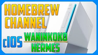 ✓ Piratear Wii | Instalar Homebrew Channel y cIOS de Waninkoko & Hermes ✓