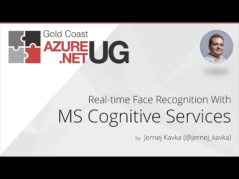 Real-time Face Recognition With Microsoft Cognitive Services by Jernej Kavka