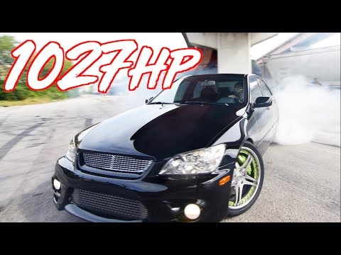 1027HP Sleeper Lexus IS300 'The Jet' - The Perfect Street Lexus!