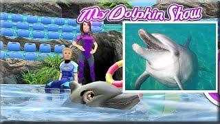 Развивающий мультик игра про дельфина [4] Факты о дельфинах для детей