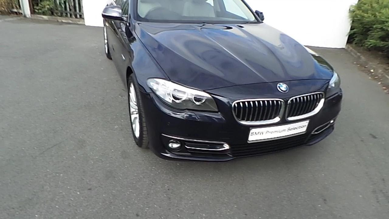 141d16056 141d16056 Bmw 520d Luxury Saloon Imperial Blue Youtube