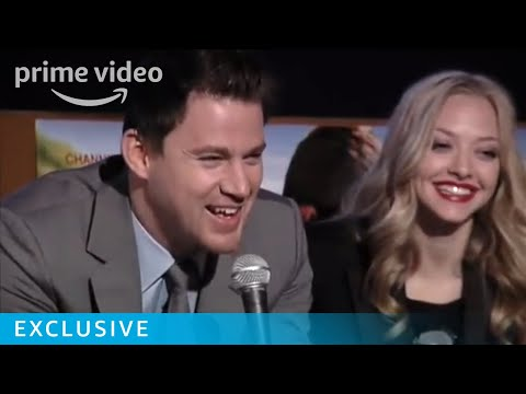 Channing Tatum & Amanda Seyfried at live Dear John Q&A | Amazon Prime Video