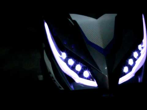 Wave 110RSX model 2012 with style Led AUDI 2012 + Led O