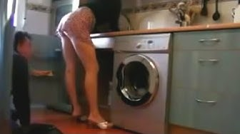 Wife & PlumberMan / Hidden Camera in the Kitchen
