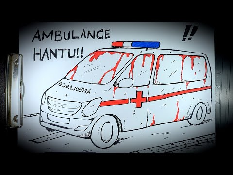 Asal Usul Hantu Mobil Ambulance || DRAWSTORY