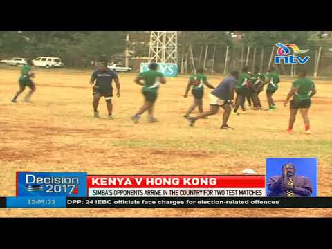 Hong Kong team arrives in Kenya for Sunday's test match against Kenya Simbas