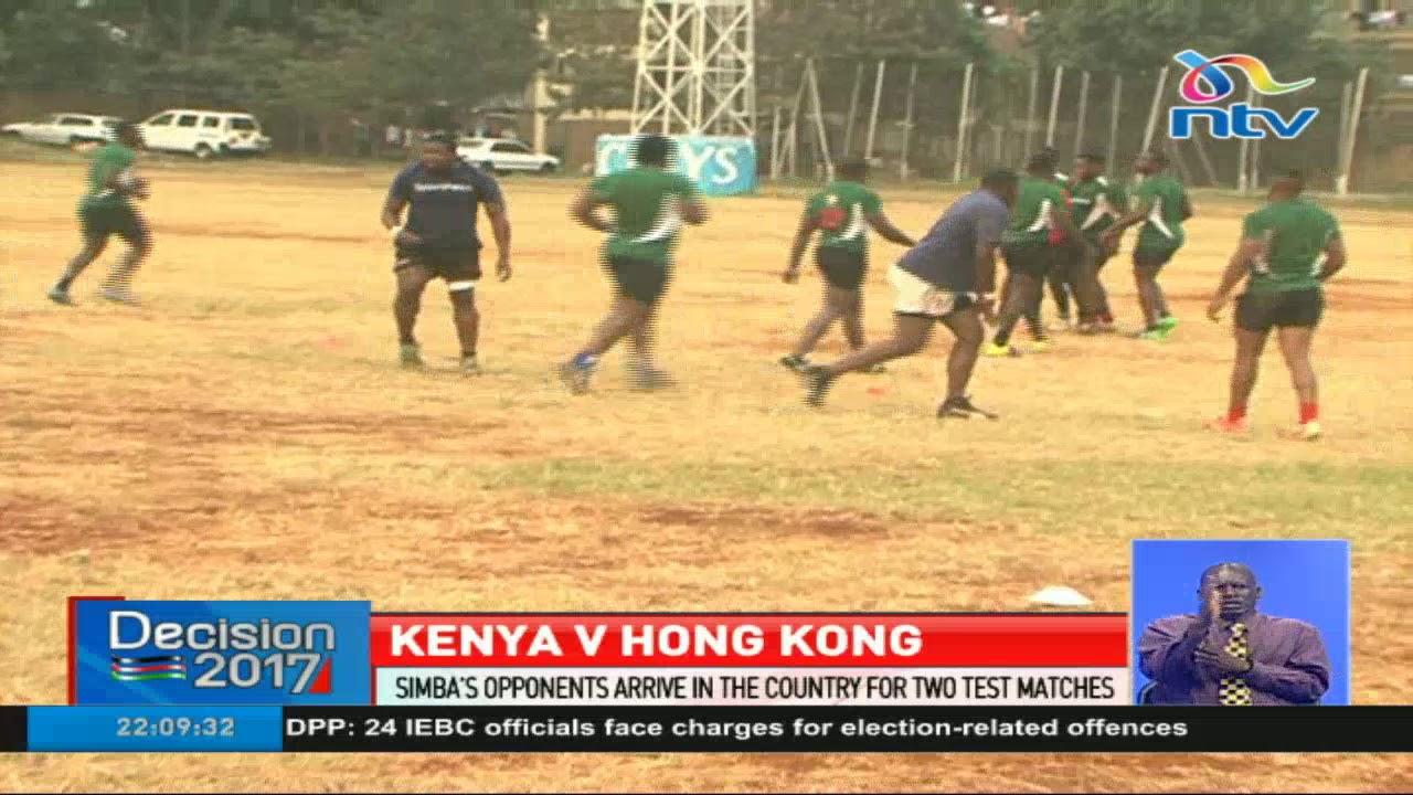 Hong Kong team arrives in Kenya for Sunday's test match against Kenya Simbas