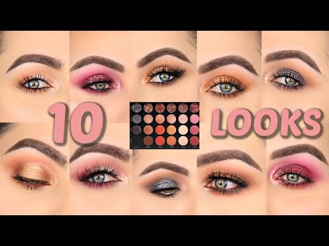 5 DAY TO NIGHT LOOKS 1 PALETTE | TATI BEAUTY TEXTURED NEUTRALS PALETTE VOL1 | PATTY thumbnail