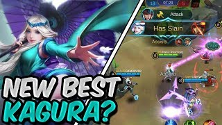 NEW WORLD BEST KAGURA? MOBILE LEGENDS