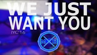 we just want you william mcdowell iyc 16